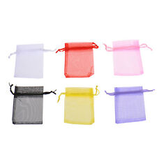 50x Wholesale Bulk Lots Organza Voile Wedding Jewelry Gift Favor Candy Pouch Bag
