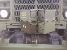 4 Pack 50 Cal M2a1 AMMO CANS BOXES CASES! Good condition