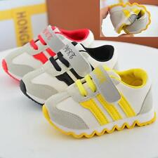 Boys Girls Toddler Athlet Sports Shoes Canvas Casual Flats Running Sneaker Y 1-3