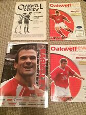 "BARNSLEY FC  HOME MATCH PROGRAMMES  "" YOUR CHOICE """