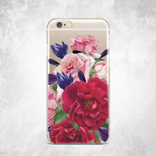 Spring Flower Floral Nature Silicone TPU Gel Rubber Case iPhone 5 S 6 S 7 Plus