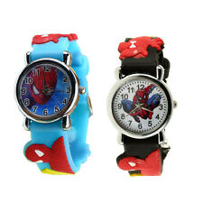 Marvel Cartoon Child Boys Kids Analog Quartz Wrist Watch Rubber NEW P5