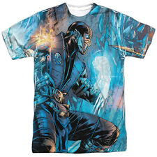 MORTAL KOMBAT KOMBAT COMIC Licensed Front Print Men's Graphic Tee Shirt SM-3XL