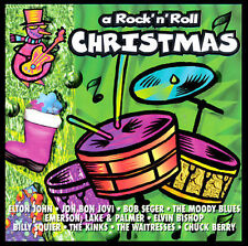 A Rock N' Roll Christmas by Various Artists (CD, Oct-1994, Psm/polygram...