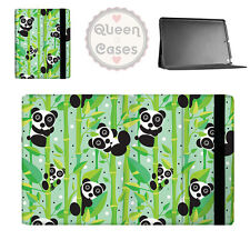 Panda Bears Flip Folio Case - fits iPad Air Mini Samsung Galaxy