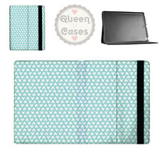 Mickey Polka Dots Aqua Flip Folio Case - fits iPad Air Mini Samsung Galaxy