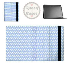 Mickey Polka Dots Blue Flip Folio Case - fits iPad Air Mini Samsung Galaxy