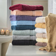 Set of 2 Cotton Bath Sheets Large Spa Shower Sheet Soft Oversized Body Towels