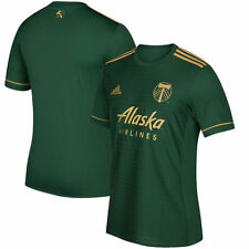 adidas Portland Timbers MLS 2017 Soccer Home Jersey Green / Gold  Kids - Youth