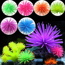 Aquarium Fake Soft Silicone Coral Fish Tank Ornament Decor Underwater Decoration