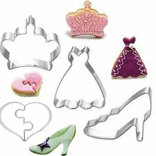 Crown Love Biscuit Cake Decoration Baking Mold Cookie Cutter Stainless Steel