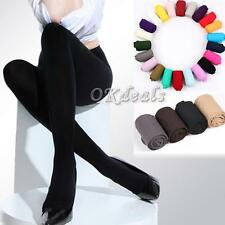 Thick 120D Sexy Opaque Stockings Pantyhose Tights Footed Socks