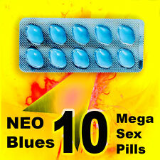 10x100mg Sex Pills MALE Sex Supplement. HARD, THICK, LONG - Relation STRONG