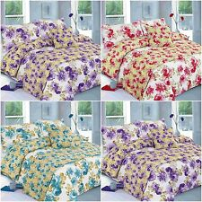 MARTHA FLORAL BED IN A BAG DUVET COVER BEDDING SET SINGLE DOUBLE KING SUPERKING