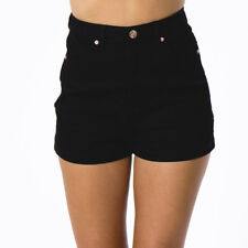 Ava And Ever Delta A-line Shorts in Black
