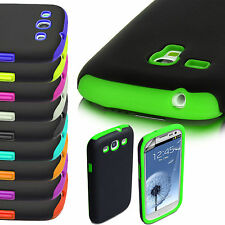 Samsung Galaxy Hard Silicone Shock Proof Case Cover For S3, S3 & S4 Mini S5 G900