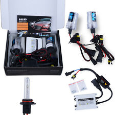 AC 12V 55W Universal HID Headlight Lamps Slim Ballast Car Xenon Conversion Kit