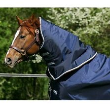 Horseware Rambo DUO Turnout HOOD Mediumweight 100g Navy/Choc/Brown ALL SIZES