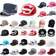 Unisex Adjustable Baseball Cap Summer Outdoor Snapback Hip-Hop Sports Sun Hat