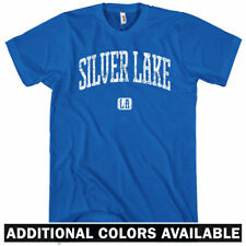 Silver Lake Los Angeles T-shirt - Men S-4X - Gift LA Hipster Indie Rock Musician