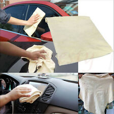 Nature Real Chamois Leather Car  Washing Cleaning Towel Cloth Wipes Clean