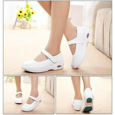 Newly Doctor Nurse Shoes Mary Jane Slip Comfy Resistant Nursing Work Shoes