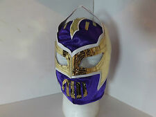 classic deep purple & gold Sin Cara Replica wrestling Mask (LuchaLibre,Wwe,tna)
