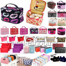 Multifunction Travel Organizer Toiletry Cosmetic Make Up Holder Case Bags Pouch