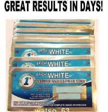 1HOUR BRIGHT WHITE STRONG TEETH WHITENING STRIPS SAFE PROFESSIONAL QUALITY