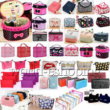 Women Travel Organizer Accessory Toiletry Cosmetic Make Up Bag Holder Case Pouch