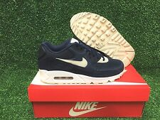 WMNS NIKE AIR MAX 90 NEW SHOES WOMENS SNEAKERS BINARY BLUE OATMEAL 325213-410