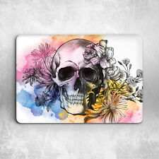 Skull Floral Art Design Hard Cover Case For Macbook Pro Retina Air 11 12 13 15