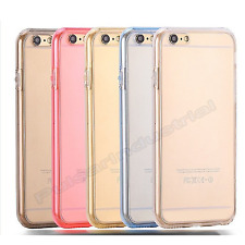 SHOCKPROOF 360° CASE FOR APPLE iPHONE SILICONE PROTECTIVE CLEAR COVER 7/7+ PLUS