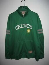 NWT BOSTON CELTICS MENS SIZES KELLY GREEN JACKET NON HOODIE
