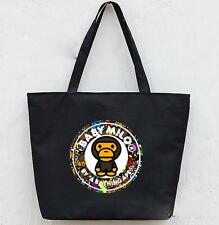 New Limited Baby Bape Milo Canvas Shoulder Handbag Tote Shopping bag 5 Style