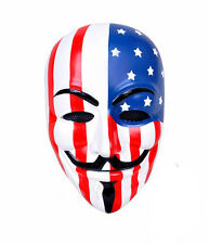 V for Vendetta Guy Fawkes Anonymous Airsoft Face Protection Paintball Mask