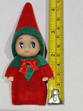 Baby Elf, Like on the shelf,  Green & Red, GORGEOUS, handmade