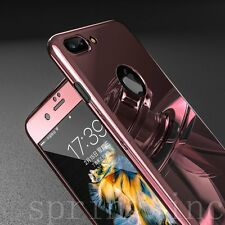 360° Hard Ultra Thin Armor Hybrid Case Tempered Glass Cover For iPhone 6 6S Plus