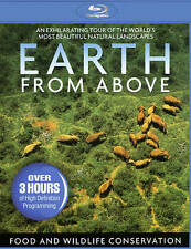 Earth From Above: Food and Wildlife Conservation (Blu-ray Disc, 2012)   NEW