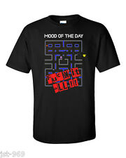 Pacman T-Shirt Funny Mood Retro Video Game Vintage Geek Gamer F Uck It All Pac
