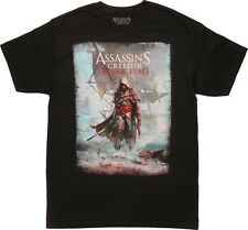 Assassins Creed IV Black Flag Adult Graphic Tee T-Shirt Officially Licensed