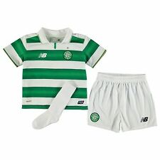 New Balance Celtic Home Mini Kit 2016 2017 Childs Football Soccer Jersey Shorts