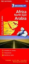Africa North East, Arabia NATIONAL Map (Michelin National Maps) by Michelin
