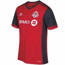 adidas  Toronto FC MLS 2017 Soccer Home Jersey New Red / Gray Kids - Youth