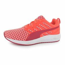 Puma Flare Running Shoes Womens Peach/Red Run Fitness Trainers Sneakers