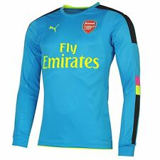 Puma Arsenal FC Away Goalkeeper Jersey 2016 2017 Mens Football Soccer Top Shirt