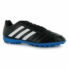 Adidas Goletto Astro Turf Artificial Grass Football Trainers Mens Blk/Wht Soccer