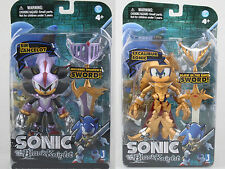 NEW SIR LANCELOT & EXCALIBUR SONIC The Hedgehog And Black Knight Action Figures