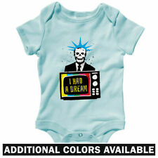 I Had A Dream One Piece - Baby Infant Creeper Romper NB-24M - Gift USA Political
