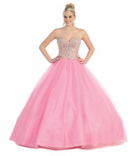 TheDressOutlet Quinceanera Ball Gown Plus Size Prom Long Dress